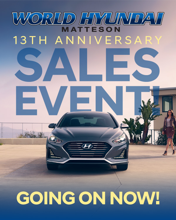 13th Anniversary Sales Event